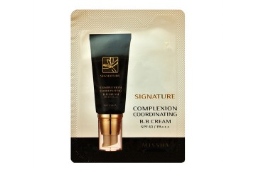Пробник СС крем Missha Signature Complexion Coordinating BB Cream Black
