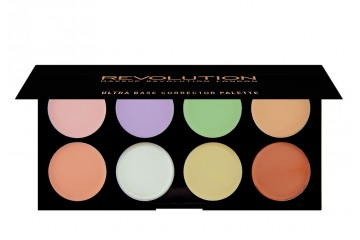Палитра корректоров для лица Makeup Revolution Ultra Base Corrector Palette
