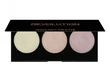 Highlight Палитра хайлайтеров для лица Makeup Revolution Highlighter Palette