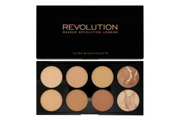 All About Bronze Палитра бронзеров для лица Makeup Revolution Bronze Palette