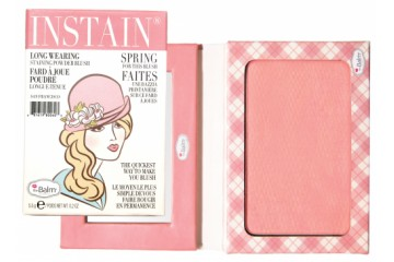 Стойкие румяна The Balm Instain Long-Wearing Powder Staining Blush