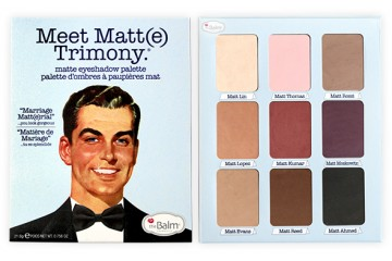 Meet Matt(e) Trimony Палетка теней The Balm Matte Eyeshadow Palette