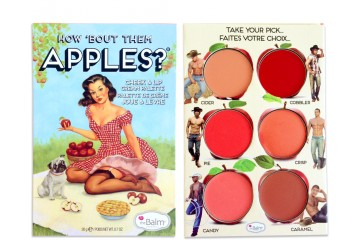 How 'Bout Them Apples? Палетка для губ и щек The Balm Lip and Cheek Cream Palette - BT597