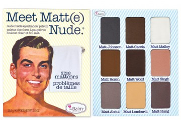 Meet Matt(e) Nude Палетка теней The Balm Nude Matte Eyeshadow Palette - BT596