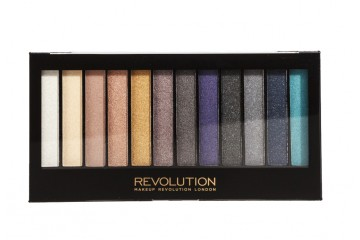 Day to night палетка из 12 теней Makeup Revolution