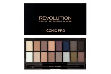 Iconic Pro 2 палитра теней Makeup Revolution Palette