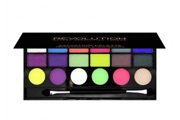 Colour Chaos палитра теней Makeup Revolution Salvation Palette