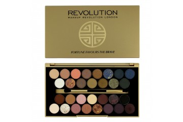 Fortune Favours the Brave палитра теней Makeup Revolution Palette