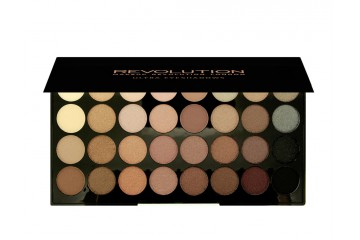 Beyond Flawless палитра теней Makeup Revolution Ultra 32 Shade Eyeshadow Palette