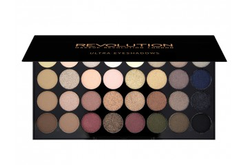 Flawless палитра теней Makeup Revolution Ultra 32 Shade Eyeshadow Palette
