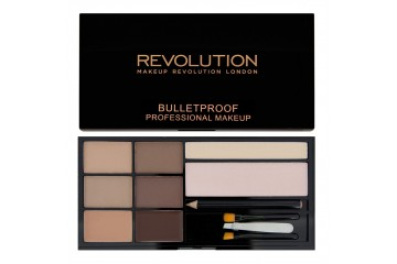 Fair to Medium набор для бровей Makeup Revolution Ultra Brow