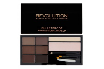 Medium to Dark набор для бровей Makeup Revolution Ultra Brow