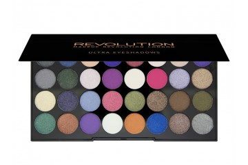 Eyes Like Angels палитра теней Makeup Revolution Ultra 32 Shade Eyeshadow Palette
