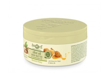 Крем-масло для тела с миндалем и медом Aphrodite Olive Oil Body Butter Almond & Honey (Z-43)