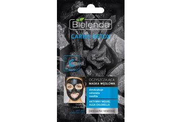 Очищающая маска для сухой кожи Bielenda Carbo Detox Cleansing Mask Dry and Sensitive Skin