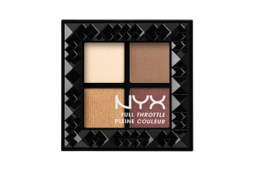 Daring Damsel палетка теней NYX cosmetics Full throttle shadow palette FTSP01
