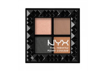Take over control палетка теней NYX cosmetics Full throttle shadow palette FTSP05