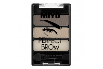 Палетка для стилизации бровей MIYO Perfect Brow Trio