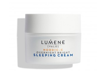 Ночной восстанавливающий крем для лица Lumene Valo [Light] Overnight Bright Sleeping Cream 50 ml