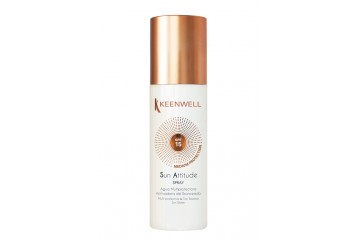 Мультизащитная вода для загара с SPF15 Keenwell Spray multi-protective & tan booster sun water SPF15