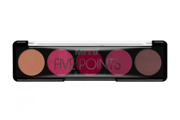 Палетка помад MIYO Five points Contour Lip Palette