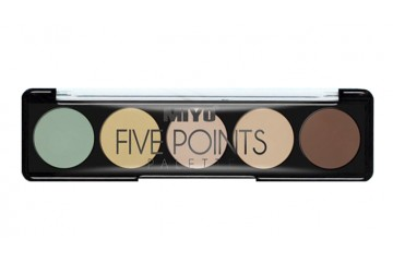 Палетка корректоров MIYO Five points Palette Perfect Selfie