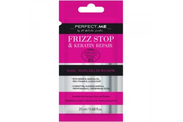 Восстанавливающая маска для волос в саше Perfect.Me Frizz Stop and Keratin Repair Mask