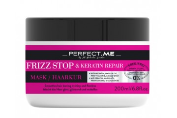 Восстанавливающая маска для волос Perfect.Me Frizz Stop and Keratin Repair Mask 200 мл