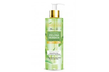 Мицеллярный гель для лица Bielenda Green Tea Micellar Gel For Face Cleansing