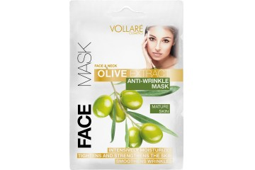Антивозрастная маска для лица Vollare Cosmetics Face & Neck Olive Extract Anti-wrinkle Mask