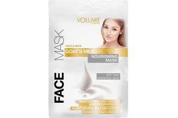 Питательная маска для лица Vollare Cosmetics Face & Neck Goat's Milk Proteins Nourishing Mask
