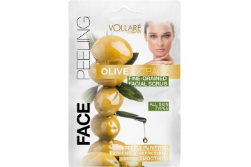 Скраб для лица с экстрактом оливок Vollare Cosmetics Face & Neck Olive Extract Fine-Grained Scrub