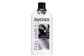 Бальзам для тонких волос Syoss Full Hair 5 Density & Volume Booster Conditioner