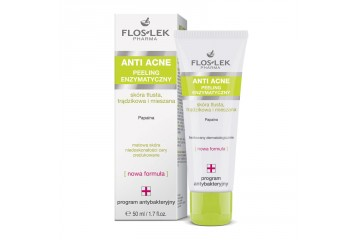 Энзимный пилинг для лица Floslek Anti Acne Enzymatic peeling