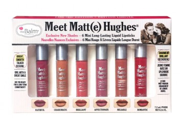 Volume 2 Набор жидких помад мини The Balm Meet Matte Hughes® Set of 6 Mini Long-Lasting Liquid Lipsticks