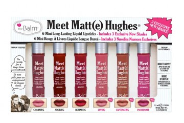 Volume 3 Набор жидких помад мини The Balm Meet Matte Hughes® Set of 6 Mini Long-Lasting Liquid Lipsticks