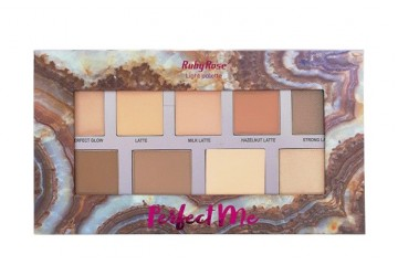 Палитра для контурирования лица Ruby Rose Light Palette Perfect Me HB-7509/L
