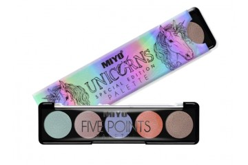 Unicorns Палетка теней MIYO Five points palette Spetial Edition