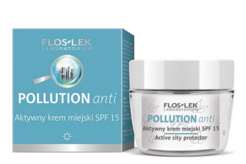 Активный дневной крем SPF 15 для лица Floslek Pollution Anti Active city protector SPF15