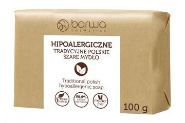 Гипоаллергенное традиционное польское мыло Barwa Cosmetics Hypoallergenic Traditional Polish soap 100g