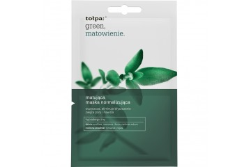 Нормализующая маска для лица Tolpa Green Mattifying normalizing mask