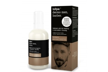 Бальзам-гель для лица с бородой Tolpa Dermo men Barber facial hair and beard face balm-gel