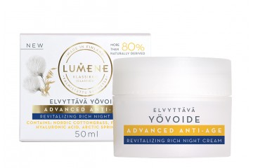 Ночной восстанавливающий крем для лица Lumene Advanced Anti-Age revitalizing Rich night cream