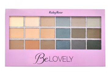 Be Lovely палитра теней Ruby Rose HB-9932