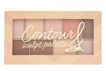 Палетка для контуринга Ruby Rose Contour & Sculpt palette Light НВ-7517