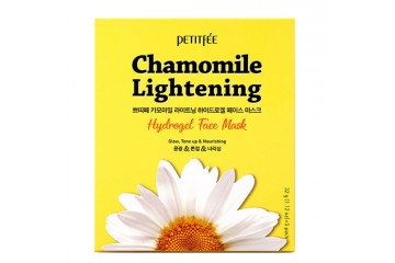 Набор гидрогелевых маскок для лица Petitfee Chamomile Lightening Hydrogel Face Mask 5 шт.