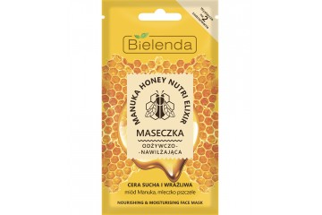 Маска для лица Bielenda Manuka Honey Nutri Elixir Face Mask