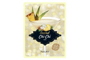 Разглаживающая маска для лица Puclair Chi Chi Cocktail Moisturizing & Nutritious Face Mask