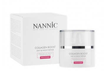 Коллагеновый бустер для лица Nannic Collagen Boost Day & Night