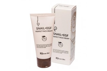 Крем для лица с муцином улитки Secret Skin Snail+ EGF Perfect Face Cream (SS-01)